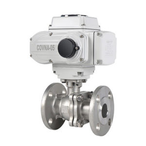 Motorized Flanged Ball Valve