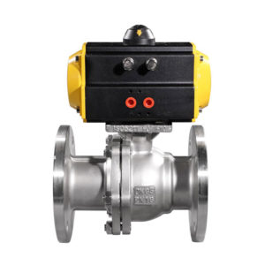 Pneumatic Flanged Ball Valve 4 e1545794920664