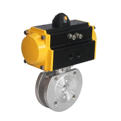 Custom Spring Return Ball Valve Actuator Automated Ball Valve Supplier