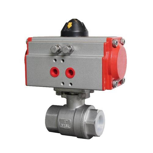 Custom Pneumatic Actuator Valve Automatic Ball Valve