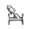 Pneumatic Flanged Angle Seat Valve 2